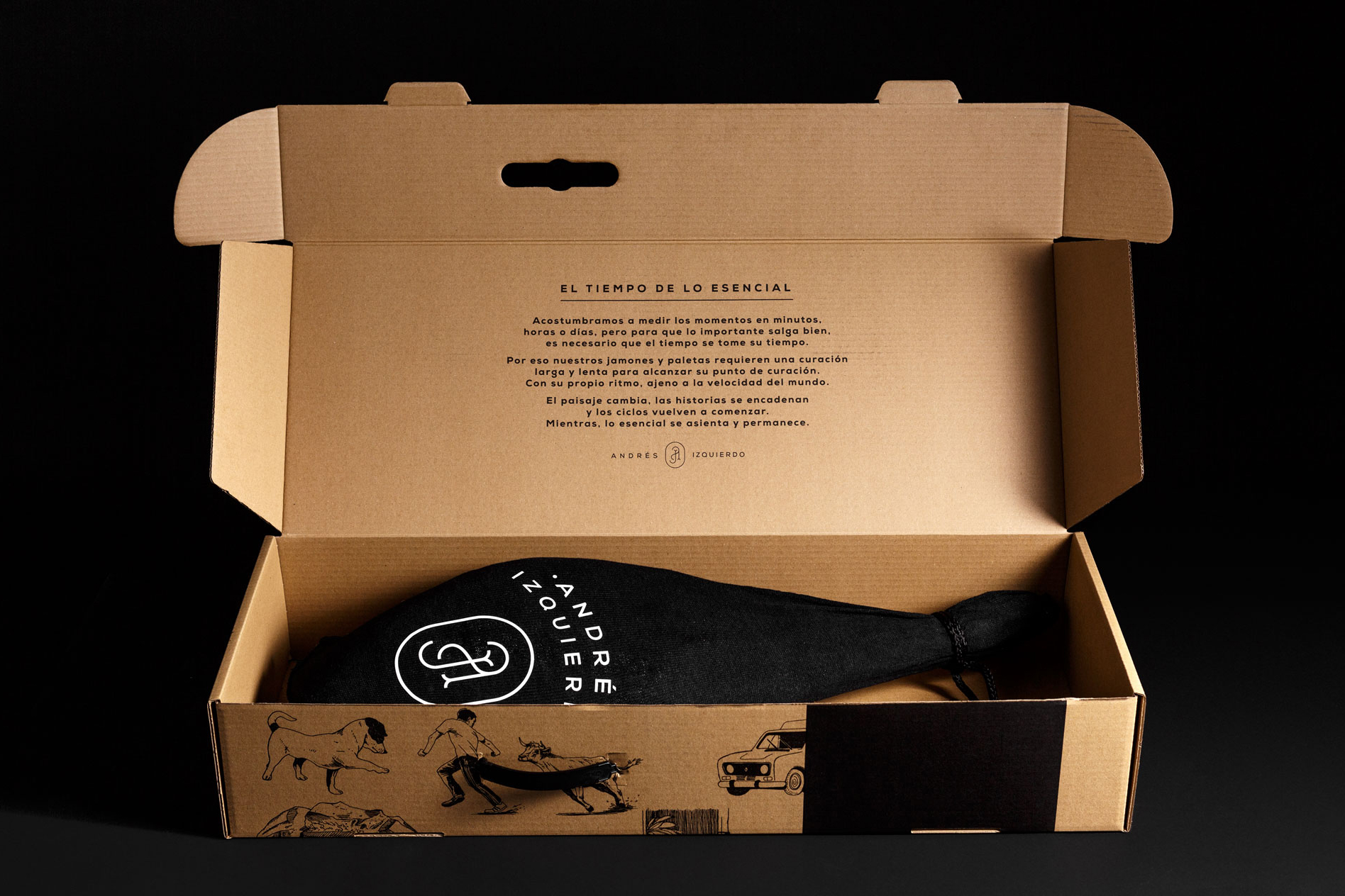 Texto en packaging